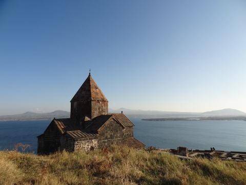 カスピ海と中央アジアの湖