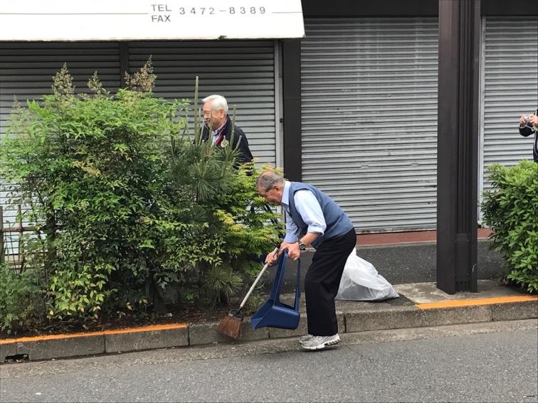清掃の様子3