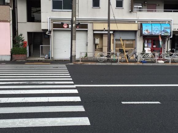 資源回収P-第一京浜〜丸直さん前の電柱付近
